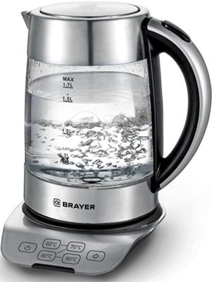 Чайник электрический BRAYER, BR1000, Китай  - купить со скидкой