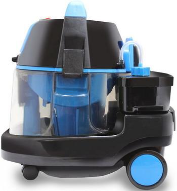 Фото - Пылесос моющий Ginzzu VS731 черно-синий пылесос ginzzu vs420 черный синий