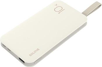 Внешний аккумулятор Xiaomi Power Bank (Mi) SOLOVE (X8 White) внешний аккумулятор mi wireless power bank 10000 ма ч черный