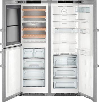 Фото - Холодильник Side by Side Liebherr SBSes 8496-20 (SWTNes 4285-20 + SKBes 4380-20) sbses 7353 25