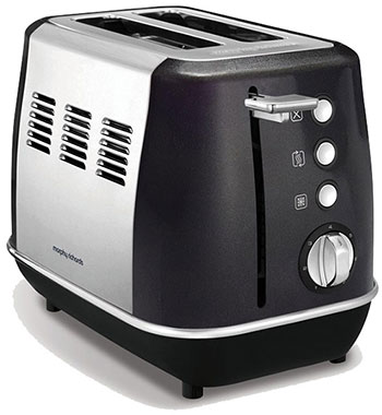 Тостер Morphy Richards Evoke 2 Slice Black 224405EE