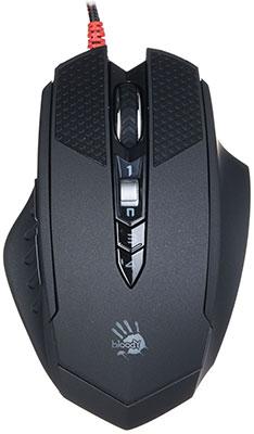 Мышь игровая проводная A4Tech A4 Bloody TL7 Terminator черный/серый