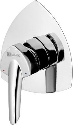 Смеситель для ванной комнаты Lemark Mars LM3523C для душа встраиваемый душевая система lemark mars для ванны и душа встраиваемый lm3522c