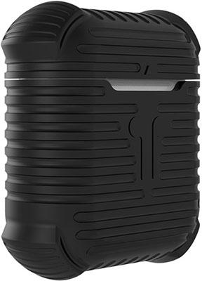 Фото - Чехол для наушников Eva AirPods 1/2 с карабином - Чёрный (CBAP15B) домашние тапочки coqui eva