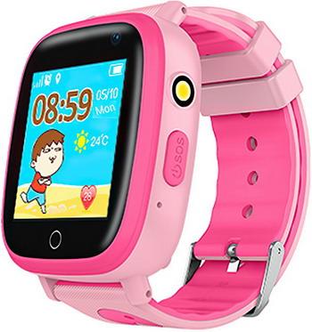 Детские часы с GPS поиском Prolike PLSW11PN  розовые