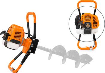 Мотобур (бензобур) Carver AG-43/000 бытовой 2-х такт. (01.003.00038)