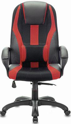 Кресло Brabix PREMIUM ''Rapid GM-102'' НАГРУЗКА 180 кг экокожа/ткань черное/красное 532107 кресло компьютерное brabix premium rapid gm 102 нагрузка 180 кг экокожа ткань черное красное 532107