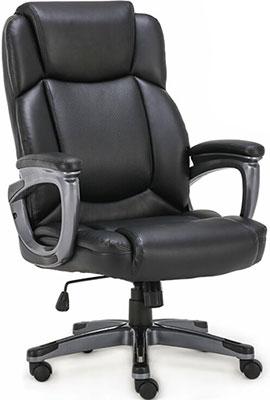 Кресло Brabix PREMIUM ''Favorite EX-577'' пружинный блок рециклированная кожа черное 531934 кресло офисное brabix rest ex 555 пружинный блок экокожа черное premium 531938