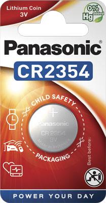 Батарейки Panasonic дисковые литиевые Lithium Power в блистере 1шт (CR-2354EL/1B)