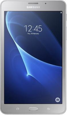 Планшет Samsung Galaxy Tab A 7.0 (2016) 8 ГБ серебристый (SM-T 280 NZSASER) планшет 3 гб оперативной памяти