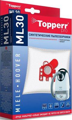 Набор пылесборников Topperr 1410 ML 30 набор пылесборников topperr vx 5