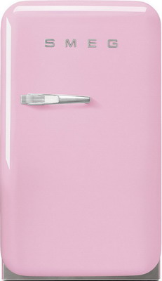 Однокамерный холодильник Smeg FAB5RPK цена