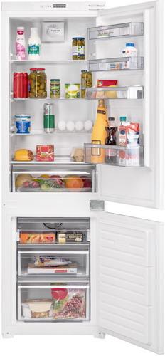 Встраиваемый двухкамерный холодильник Zigmund & Shtain BR 08.1781 SX встраиваемый однокамерный холодильник zigmund amp shtain br 12 1221 sx