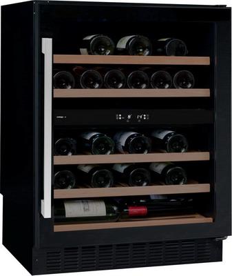 Винный шкаф Climadiff Avintage AVU 53 CDZA чёрный с чёрной рамкой цена