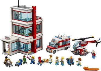 цена на Конструктор Lego City: Городская больница 60204