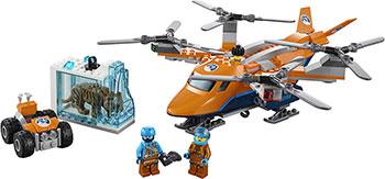 Конструктор Lego Арктический вертолёт 60193 lego city 60179 вертолёт скорой помощи lego
