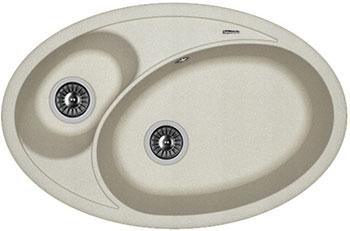 Кухонная мойка Florentina Селена 780х510 грей FSm кухонная мойка florentina касси 780 780х510 антрацит fsm