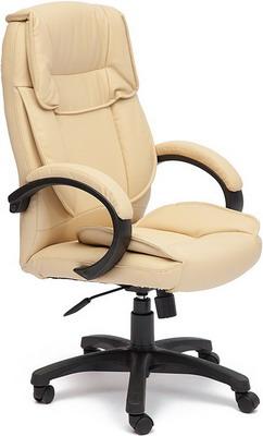 все цены на Кресло Tetchair OREON (кож/зам бежевый/бежевый перфорированный 36-34/36-34/06) онлайн