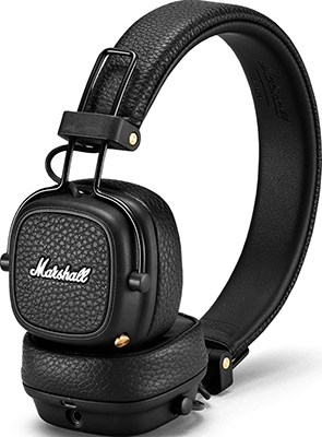 Накладные наушники Marshall Major III Bluetooth Black наушники marshall mid bluetooth black