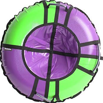 Тюбинг Hubster Sport Pro фиолетовый-зеленый (90см) во4198-4 тюбинг hubster sport pro 90cm red blue во4196 4