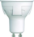 Лампа светодиодная Uniel LED-JCDR 6W/NW/GU10/FR/DIM PLP01WH диммируемая Форма «JCDR» матовая (4000K) 003988