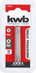 Бита двусторонняя Kwb PH2XPZ2 60мм 120950