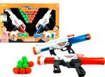 Игрушечное оружие 1 Toy Street Battle с мягкими шариками (в компл. 2 пист.  20 шар. 3 4 см)  короб. Т13652