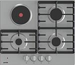 Встраиваемая комбинированная варочная панель Gorenje GE681X