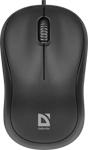 Проводная мышь Defender Patch MS-759 черный 3 кнопки 1000 dpi (52759)