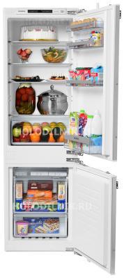 Встраиваемый двухкамерный холодильник Siemens KI 86 NVF 20 R