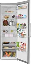 Однокамерный холодильник Scandilux R 711 EZ X Inox