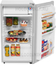 Однокамерный холодильник Bravo XR 100 S серебристый
