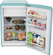 Однокамерный холодильник Hansa FM 1337.3 JAA бирюзовый